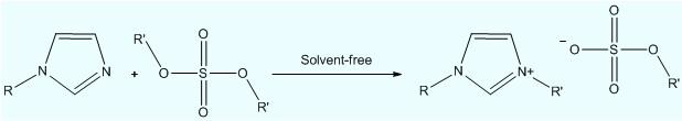 微通道反应器合成离子液