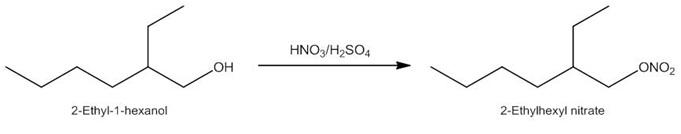 醇类在微通道反应器中硝化