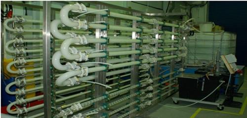 倪特科连续结晶反应器用于气固浆三相反应