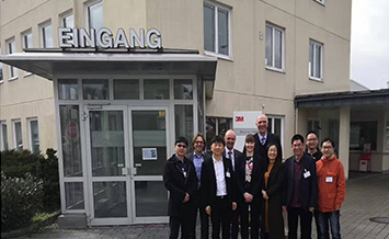 Yizheng Technology Goes to Europe to Investigate the Industrial Application of Chemtrix Microchannel Reactor