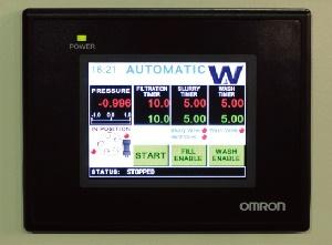连续过滤干燥仪控制系统
