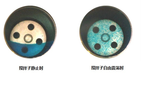 连续多级搅拌反应器混合效果图