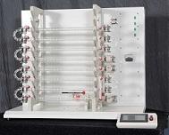 Tubular continuous crystallization reactor